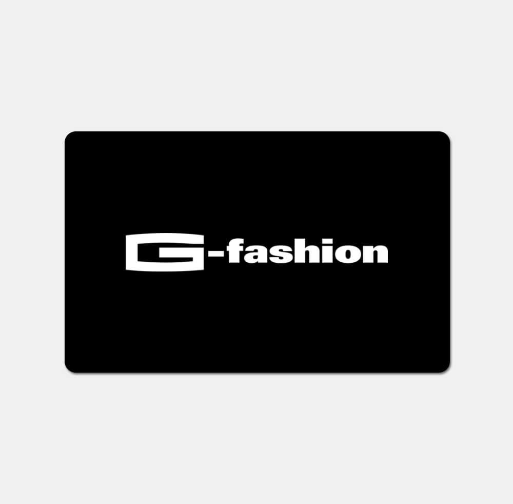 G-fashion Gutscheinkarte schwarz